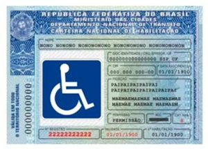 Cnh pcd especial para deficiente físico